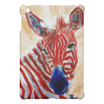 Patriotic Zebra IPad Case