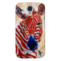 Patriotic Zebra Samsung Galaxy S4 Cover