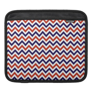 Patriotic Zigs & Zags Sleeve For iPads