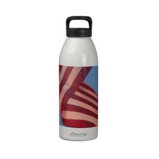 Patriótico el 4 de julio botella de agua