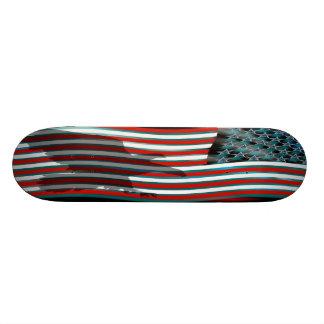Patriótico el patriota ve notas skate board