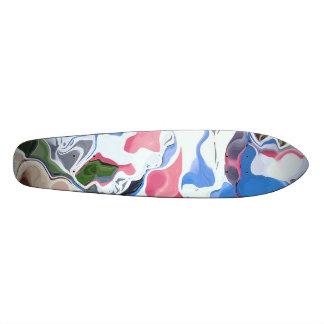 Patriótico Tablas De Skate