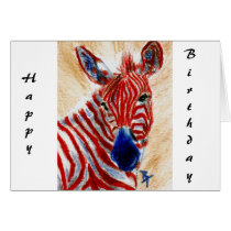 PatrioticZebra Card