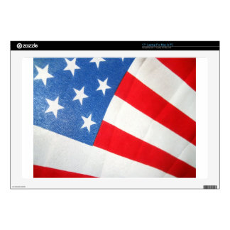 "Patriotism Decals For 17"" Laptops"