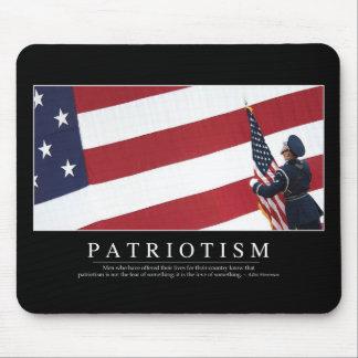Patriotism: Inspirational Quote Mouse Pad