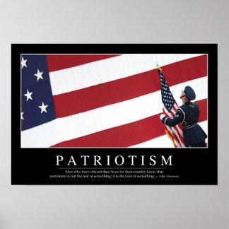 Patriotism: Inspirational Quote Poster