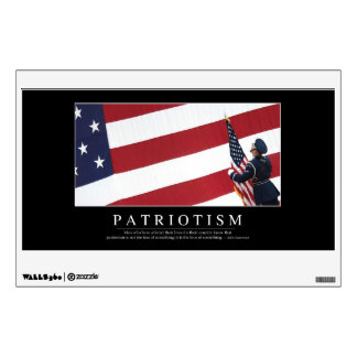 Patriotism: Inspirational Quote Wall Decal