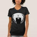 Patriotismo anónimo camisetas