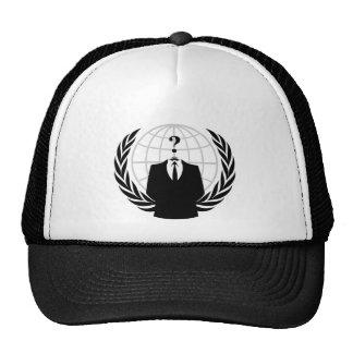 Patriotismo anónimo gorras