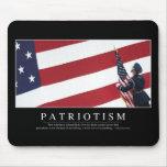 Patriotismo: Cita inspirada Tapetes De Ratones