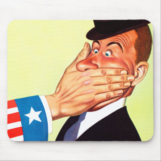 Patriotismo de la censura de los E.E.U.U. del Tapete De Raton