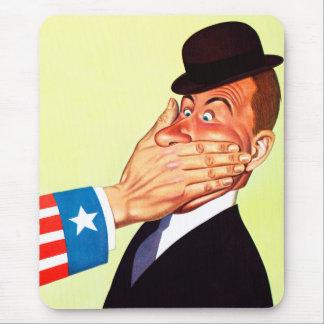 Patriotismo de la censura de los E.E.U.U. del Tapete De Ratones