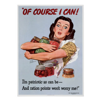 Patriotismo de la Segunda Guerra Mundial Posters