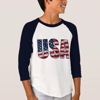 Patriotismo de los E.E.U.U. Playera