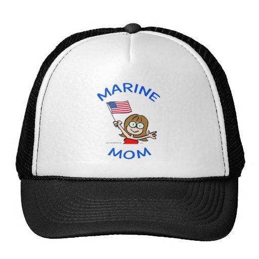 patriotismo marino del cuerpo de infantes de marin gorros bordados