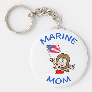 patriotismo marino del cuerpo de infantes de marin llavero personalizado