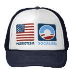Patriotismo o socialismo gorro de camionero