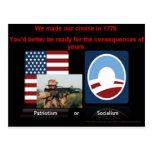 Patriotismo o socialismo postal