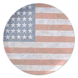 Patriotismo Platos De Comidas