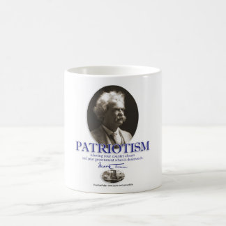 Patriotismo Taza