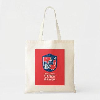 Patriots Day Greeting Card American Patriot Ringin Tote Bag