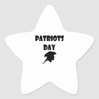 Patriots Day Holiday Gifts Value And Quality Star Sticker