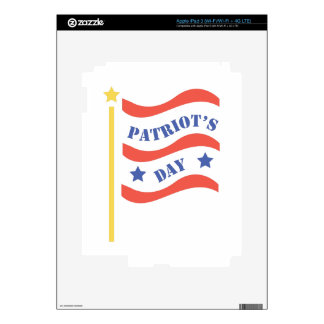 Patriots Day iPad 3 Skin