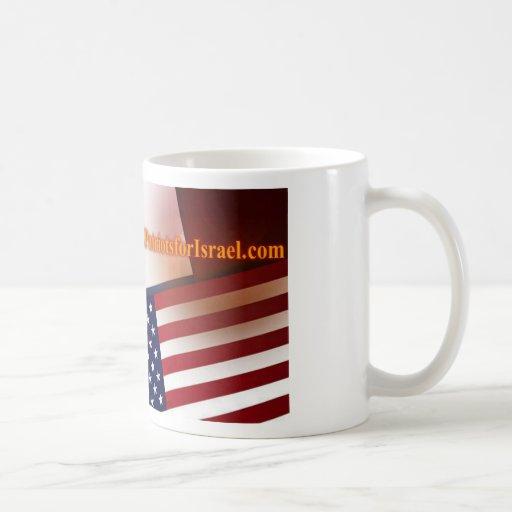 Patriots for Israel Classic White Coffee Mug