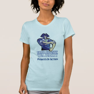 Patriots In Action T-Shirt (Baby Blue)