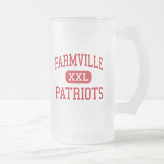 - Patriots - Middle - 16 Oz Frosted Glass Beer Mug