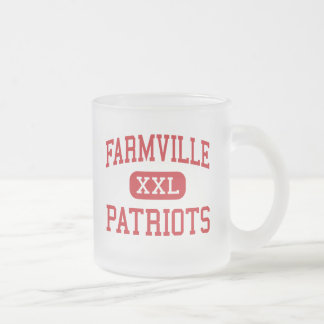 - Patriots - Middle - 10 Oz Frosted Glass Coffee Mug