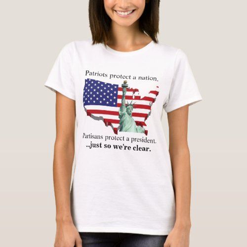 Patriots protect a nation T_Shirt