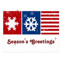 patritoic USA business Greeting PostCards