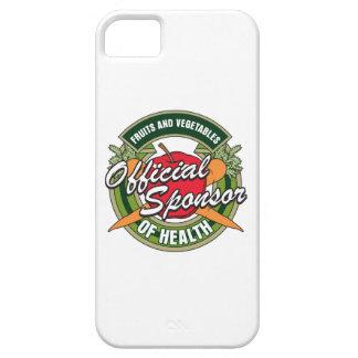 Patrocinador de las verduras de la salud iPhone 5 Case-Mate fundas