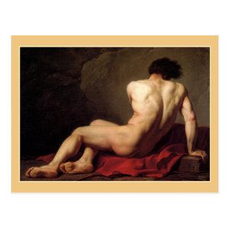Patroclus by Jacques Louis David Postcard