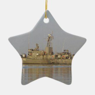 Patrol Boat Ceramic Ornament