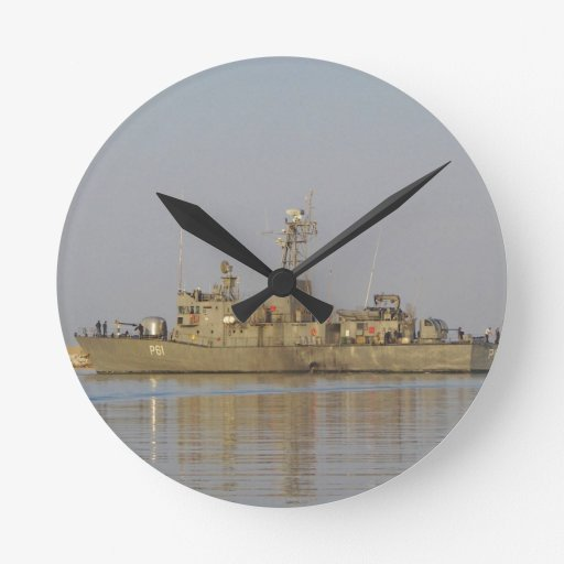 Patrol Boat Wall Clock