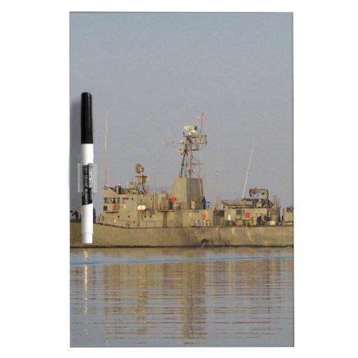 Patrol Boat Dry Erase White Board