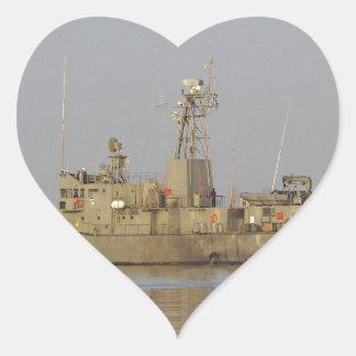 Patrol Boat Heart Sticker