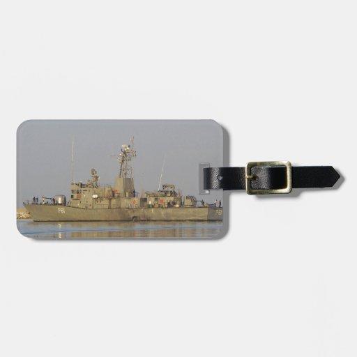 Patrol Boat Luggage Tag