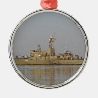 Patrol Boat Metal Ornament