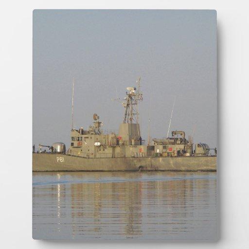 Patrol Boat Display Plaque