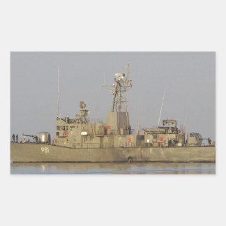 Patrol Boat Rectangular Sticker