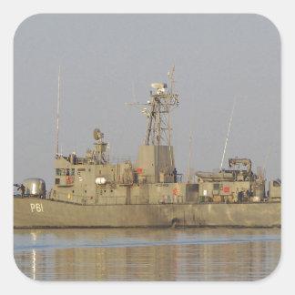 Patrol Boat Square Sticker