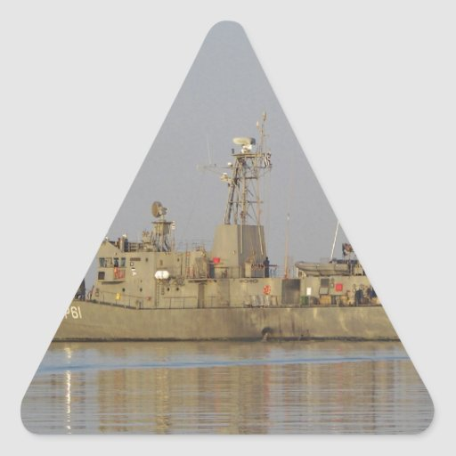 Patrol Boat Triangle Stickers