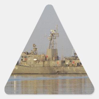 Patrol Boat Triangle Sticker