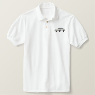 Patrol Car Embroidered Polo Shirt