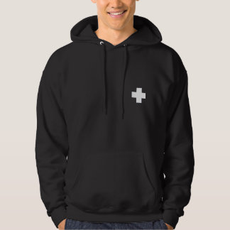 Patrol Hoodie- White Crosses Hoody