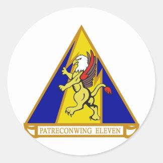 Patrol & Reconnaissance Wing 11 Classic Round Sticker