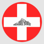 Patrol Sticker - Mountain